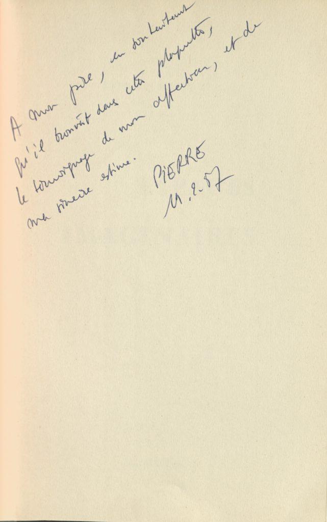 """""""Espaces Imaginaires"""" (Catalogue) by Pierre Restany, Galerie H. Kamer, Paris 1957 © SKD"""