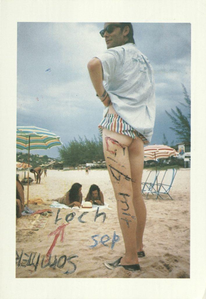 "Martin Kippenberger, ""Gib mir das Sommerloch"", Galerie Klein, Bonn, 1986 (Invitation) © 2019 Estate Martin Kippenberger, Galerie Gisela Capitain, Cologne; Archiv der Avantgarden, Staatliche Kunstsammlungen Dresden"