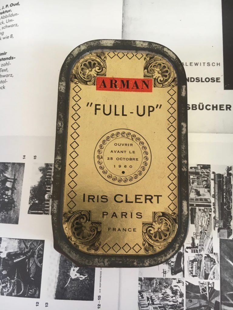 "Arman, ""FULL UP"" Iris Clert, Paris (1960) ; Multiple; Sammlung Egidio Marzona; Photo: Anna-lena Werner"