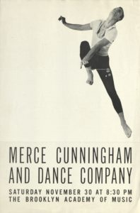 Merce Cunningham and Dance Company, The Brooklyn Academy of Music, New York, 1957; Archiv der Avantgarden, Staatliche Kunstsammlungen Dresden