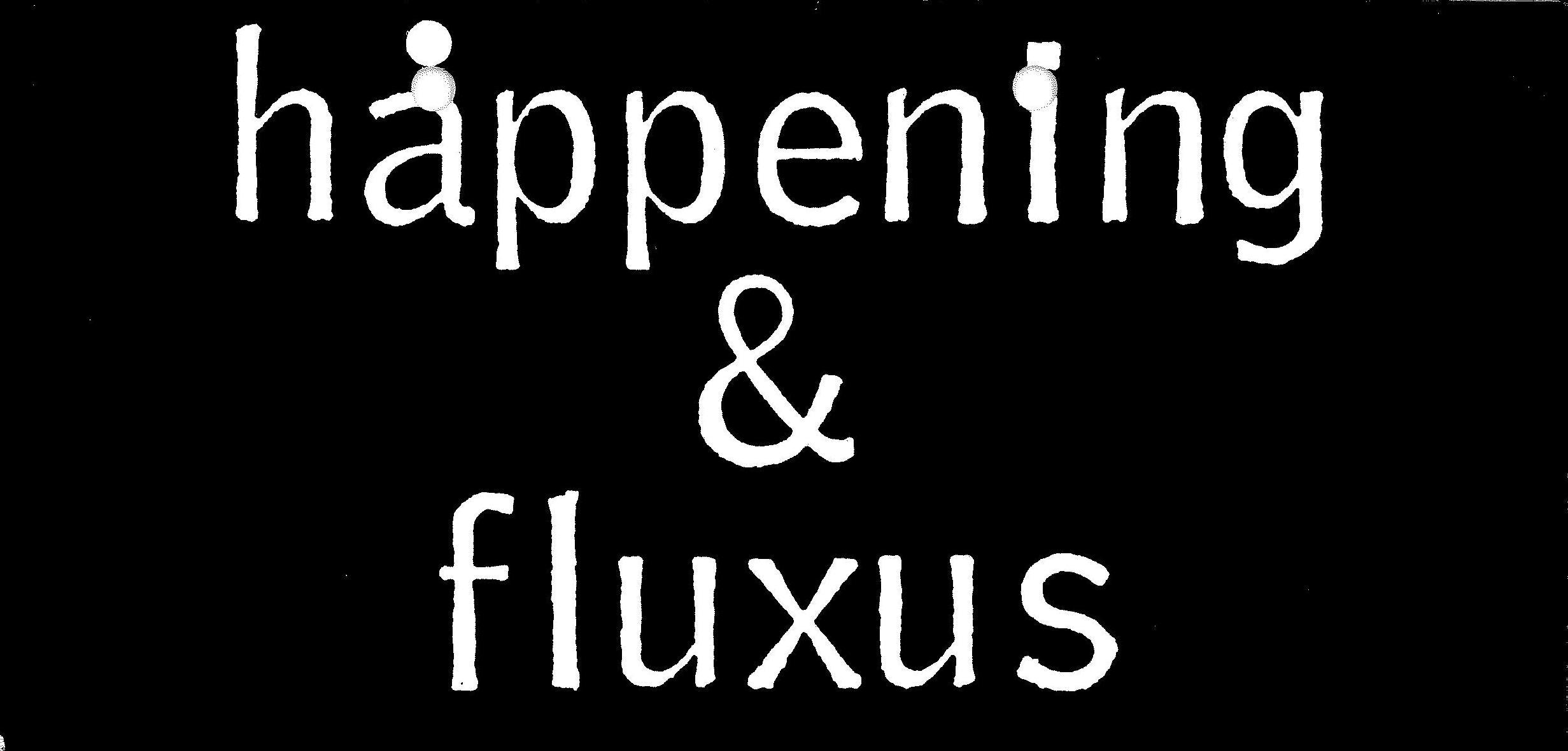 FLUXUS & HAPPENING, Kölnischer Kunstverein 1970 (invitation); Archiv der Avantgarden, Staatliche Kunstsammlungen Dresden