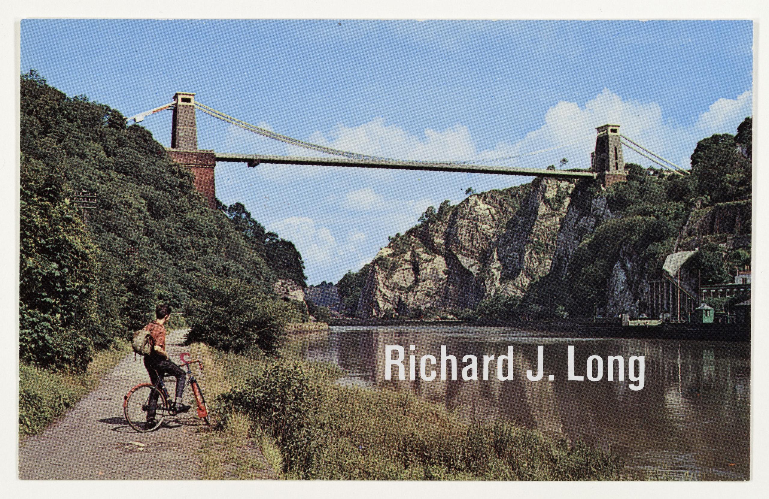 """Richard Long """"Sculpture"""", Galerie Konrad Fischer, Düsseldorf, 1968 (Invitation); Sammlung Marzona, Kunstbibliothek – Staatliche Museen zu Berlin; VG Bild-Kunst, Bonn."""