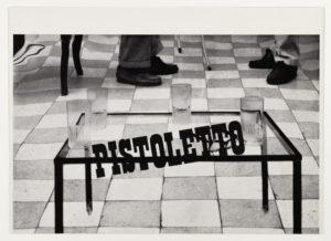 Pistoletto, Galerie Ileana Sonnabend, Paris 1964 (Invitation); ; Sammlung Marzona, Kunstbibliothek – Staatliche Museen zu Berlin